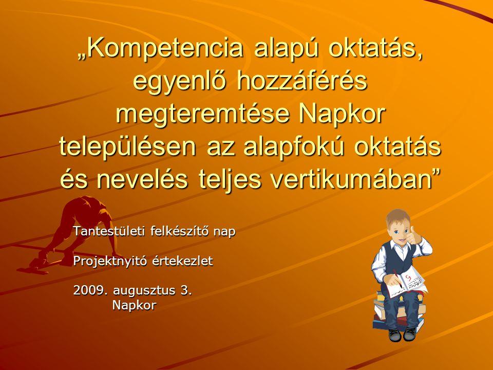 Vezető képzése:menedzsmentképzés - Változásmenedzsment, projekt- - Változásmenedzsment, projekt- menedzsment: Baksa Ferencné, menedzsment: Baksa Ferencné, Tudlik Ferenc Tudlik Ferenc - Új oktatásszervezés az intézmény- - Új oktatásszervezés az intézmény- ben: Baksa Ferencné, Tudlik ben: Baksa Ferencné, Tudlik Ferenc Ferenc - IKT alkalmazása: Baksa Ferencné - IKT alkalmazása: Baksa Ferencné
