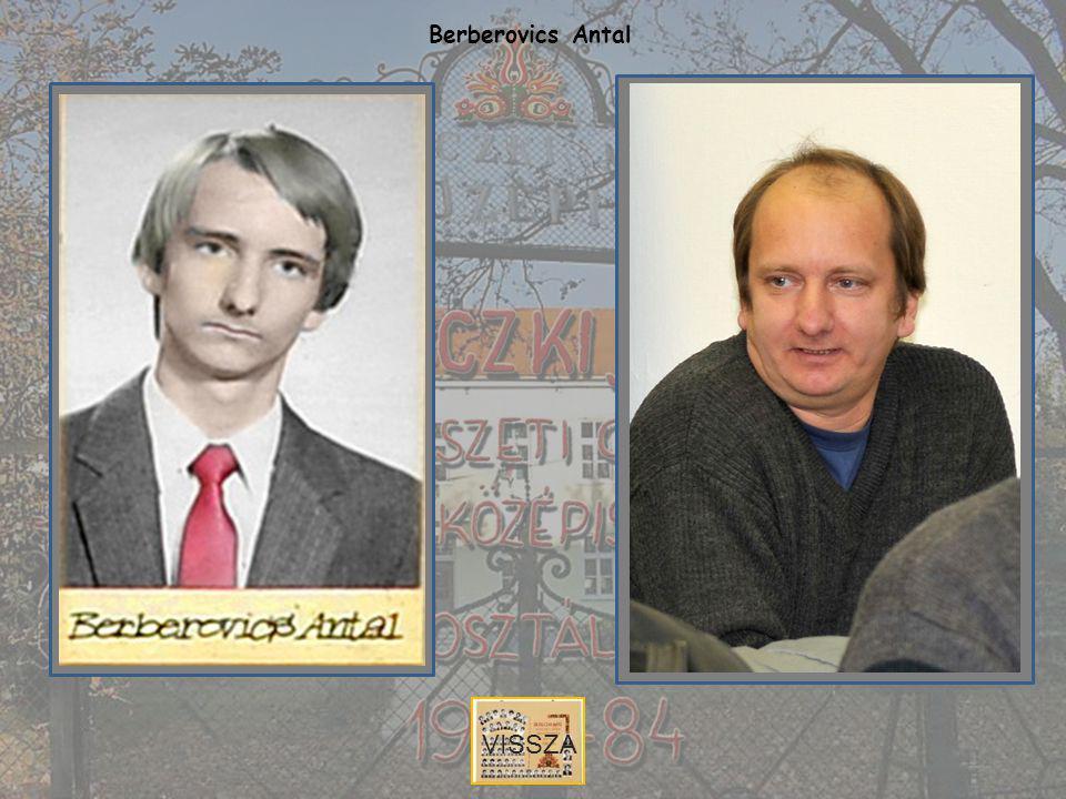 Berberovics Antal VISSZA