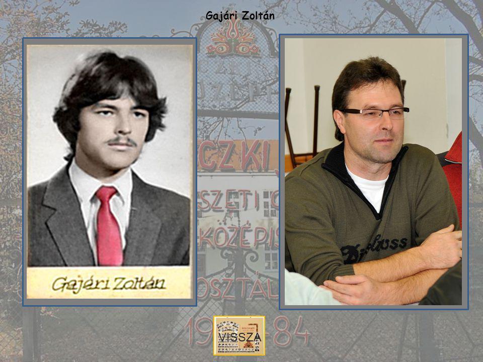 Gajári Zoltán VISSZA