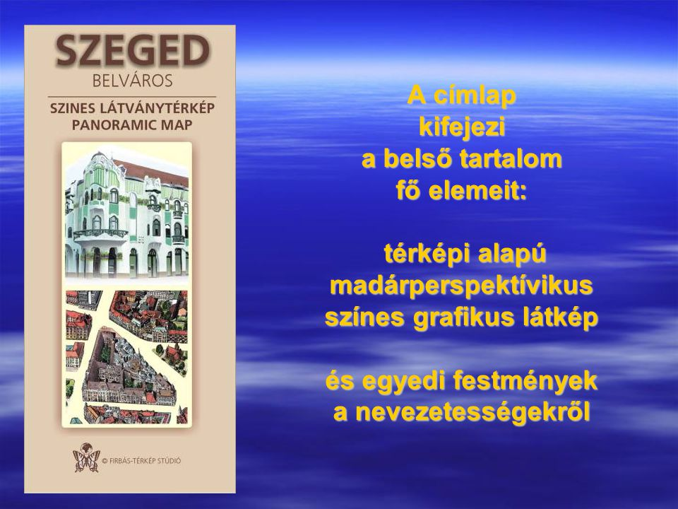 SZEGEDI ELŐZMÉNYEK TÉRKÉP-GRAFIKAI MEGOLDÁSOK A KÖZELMÚLTBÓL 1990-es évek Szegedbelváros fekete grafikus nézete útikönyvben Somorjai Ferenc munkája
