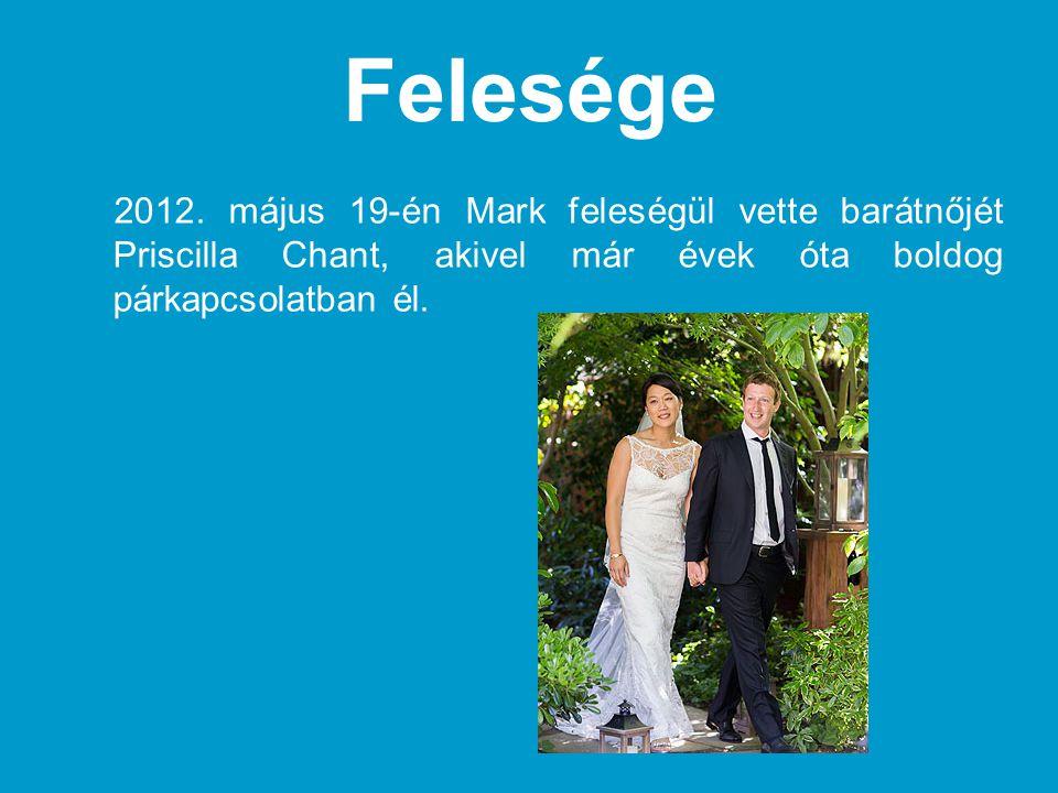 Felesége 2012. május 19-én Mark feleségül vette barátnőjét Priscilla Chant, akivel már évek óta boldog párkapcsolatban él.