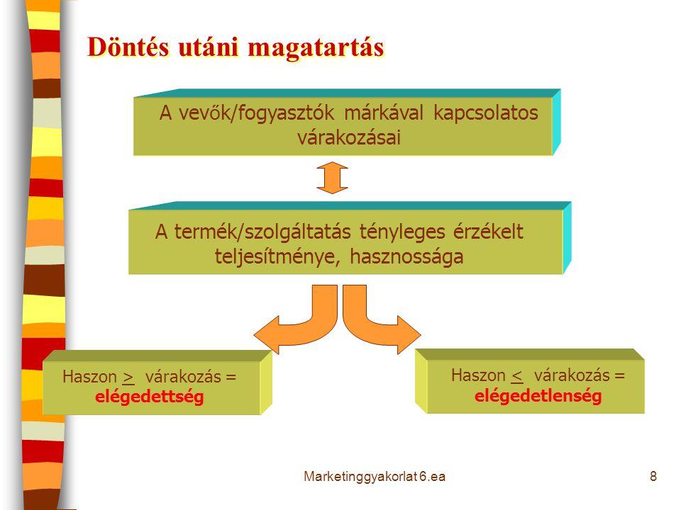 9 Involváltság és a vásárlási döntési szakaszok jellemzői Involváltság : az egyén érzelmi és/vagy értelmi bevonódása, érintettsége a döntési folyamatban és/vagy a folyamat végeredményében.