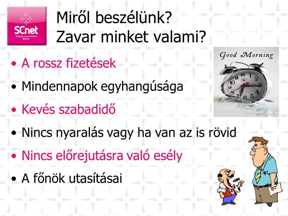 Üdvözöljük! SCnetwork® Magyarország Kft. Adosz: 23276107-2-13, CJSz: 13-09-145580