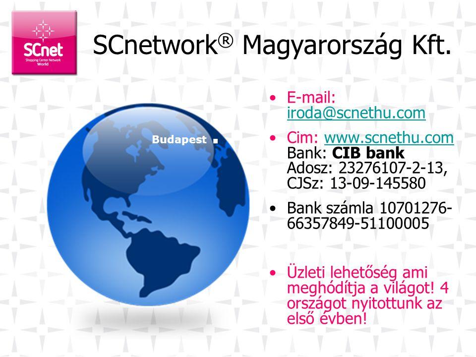 SCnetwork ® Magyarország Kft.