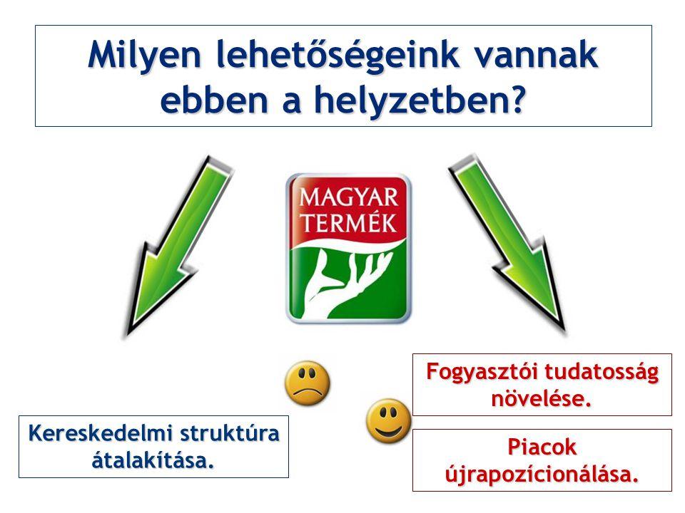 Milyen lehetőségeink vannak ebben a helyzetben. Kereskedelmi struktúra átalakítása.