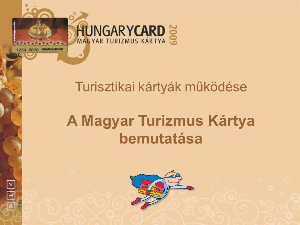 A Magyar Turizmus Kártya bemutatása Turisztikai kártyák működése