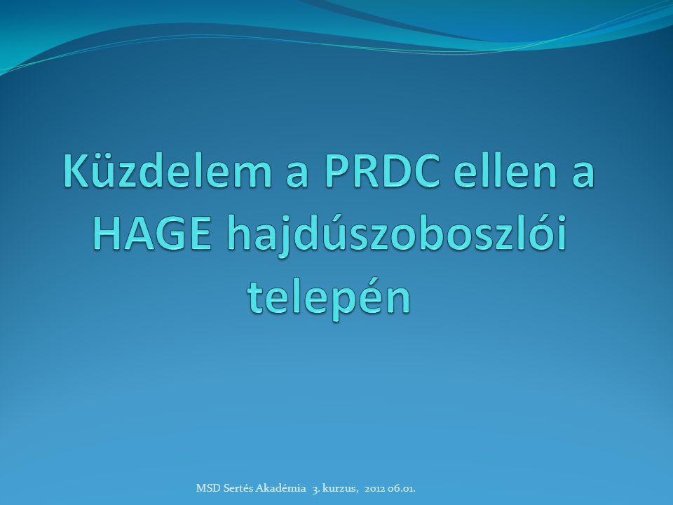 A telep bemutatása  HAGE Zrt.