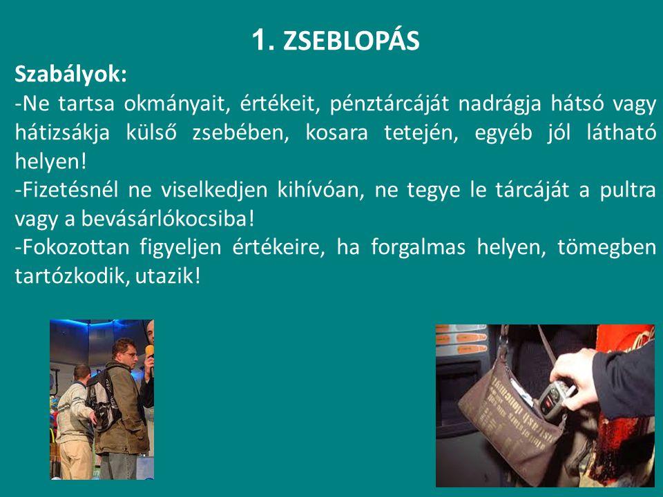 SZABÁLYOS TILOS