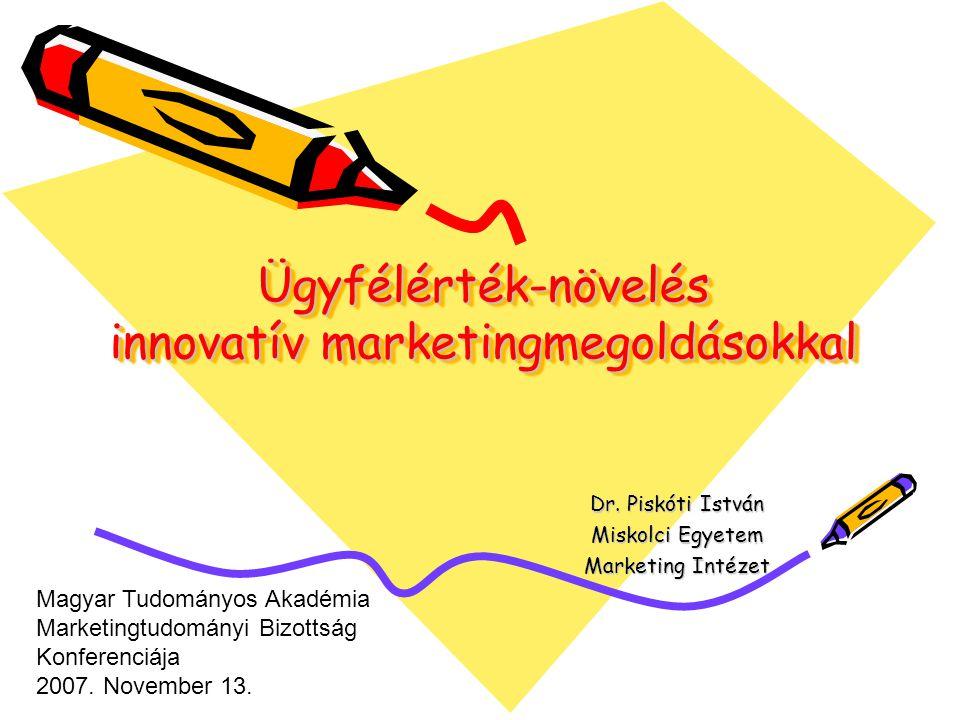 Ügyfélérték-növelés innovatív marketingmegoldásokkal Dr.