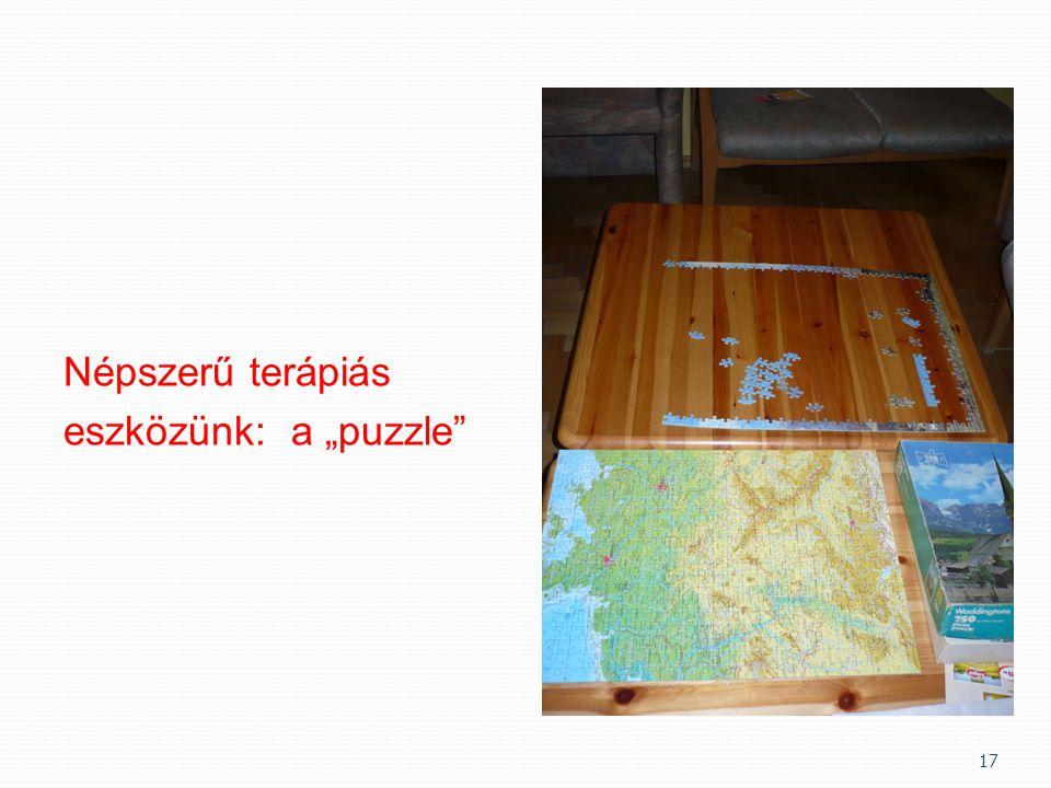 """Népszerű terápiás eszközünk: a """"puzzle"""" 17"""