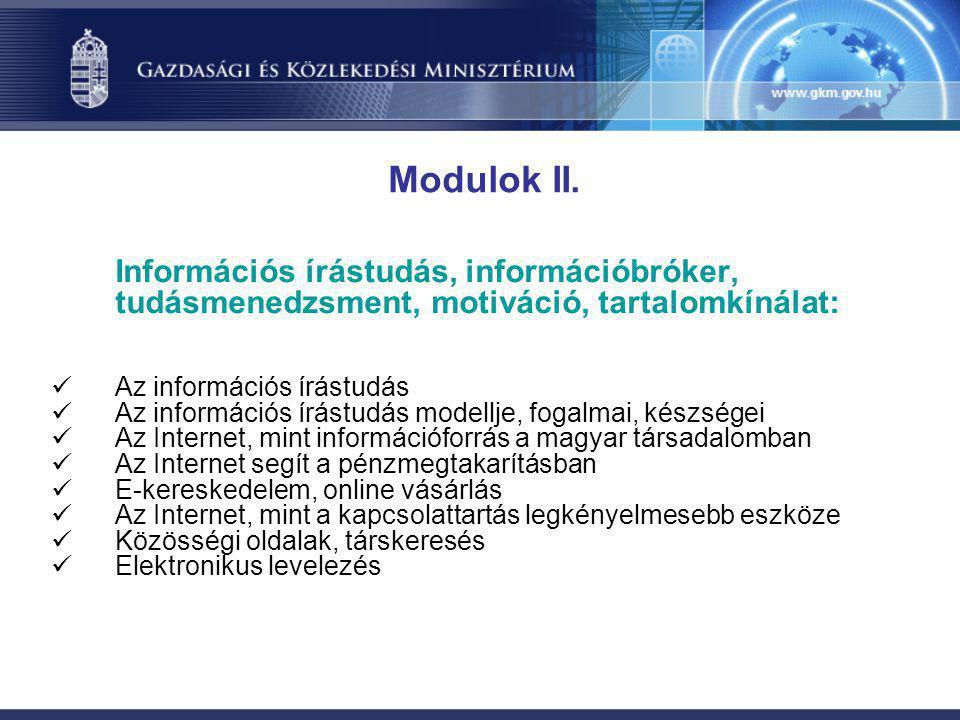 Információs írástudás, információbróker, tudásmenedzsment, motiváció, tartalomkínálat:  Az információs írástudás  Az információs írástudás modellje,