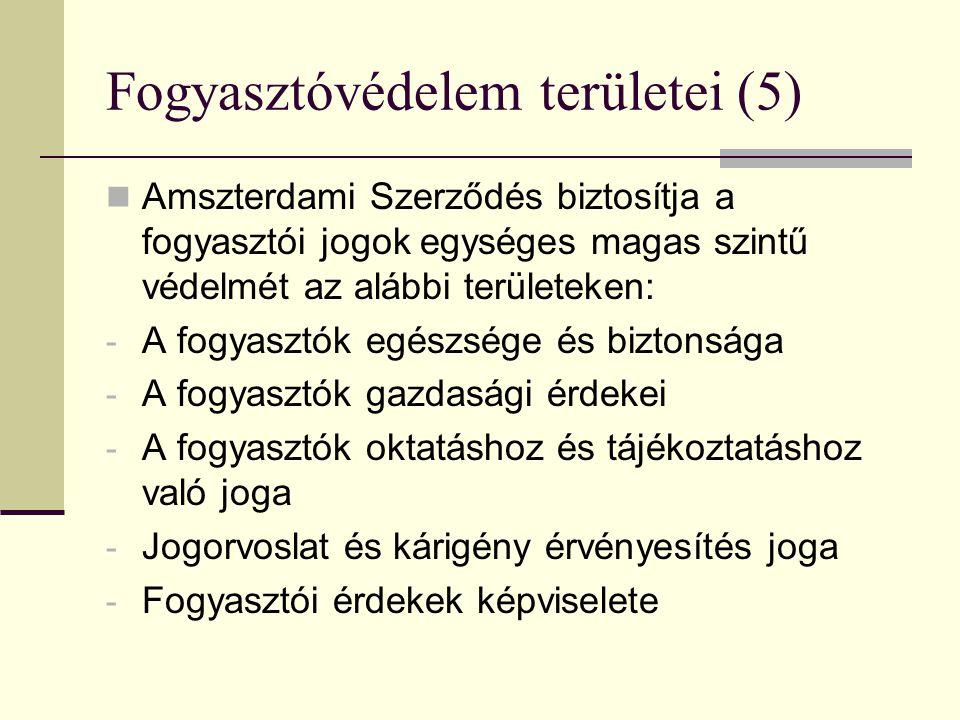 2. FOGYASZTÓVÉDELEM