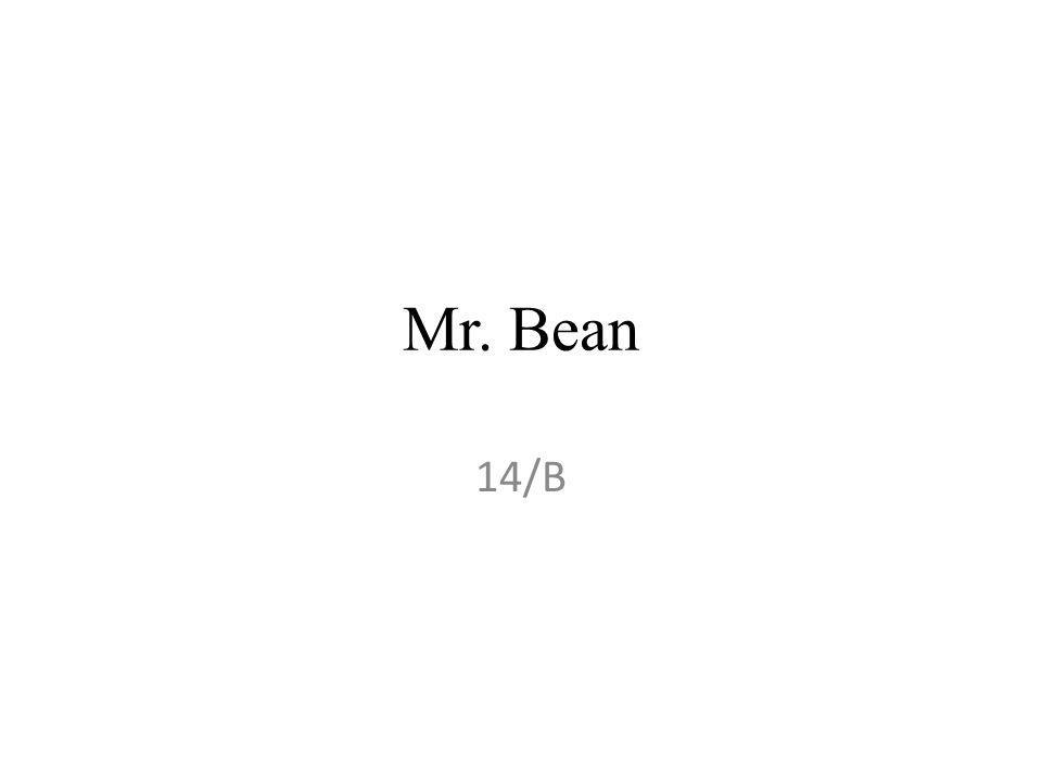 Mr. Bean 14/B