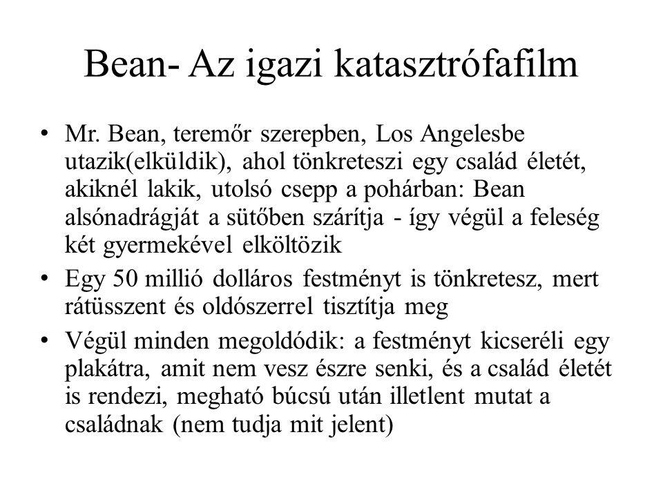 Bean- Az igazi katasztrófafilm • Mr.