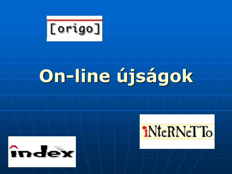 On-line újságok