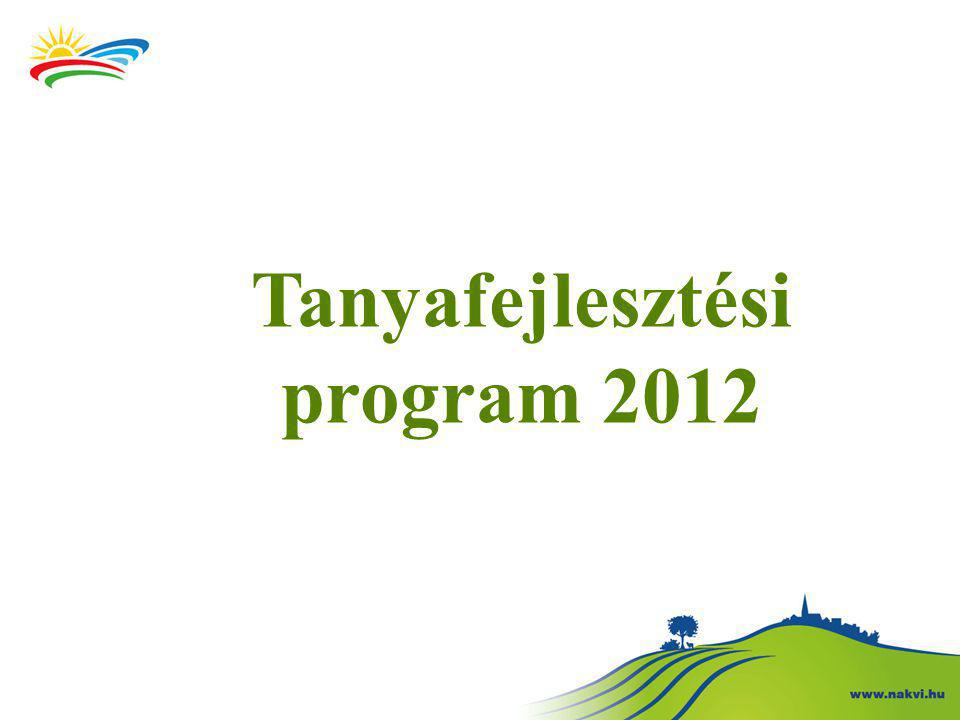 Tanyafejlesztési program 2012