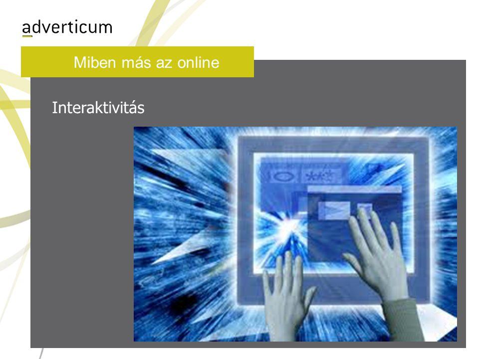 Miben más az online Interaktivitás