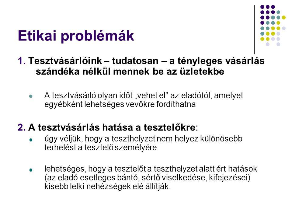 Etikai problémák 1.