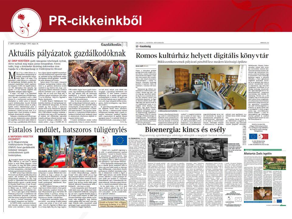 PR-cikkeinkből