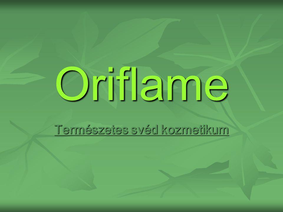 Oriflame Természetes svéd kozmetikum
