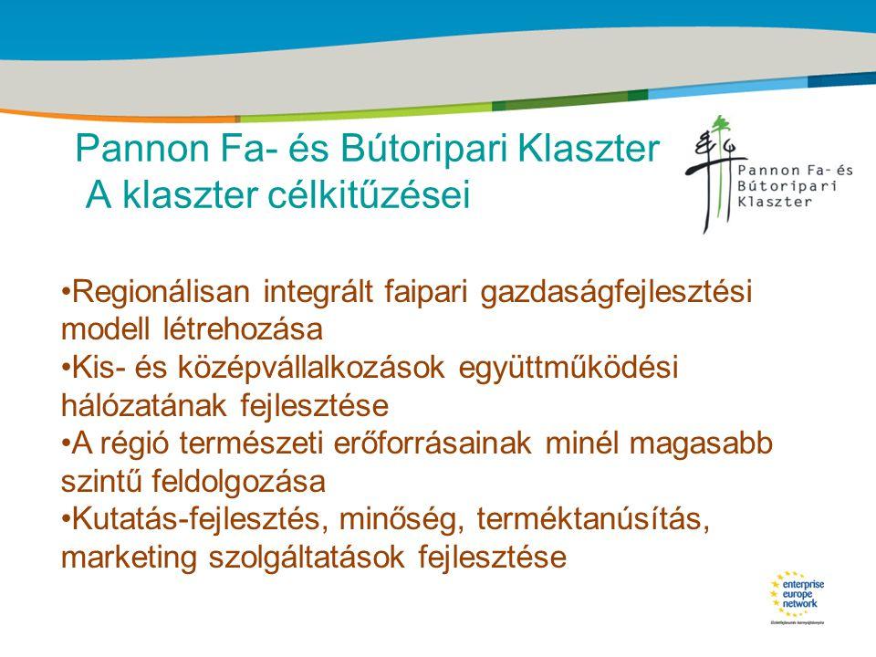 Title of the presentation | Date |‹#› Pannon Fa- és Bútoripari Klaszter Régiók bútortermelése •Nyugat-Dunántúl 39% •Dél-Alföld 18% •Közép-Magyarorsz.13% •Észak-Alföld 11% •Közép-Dunántúl 9% •Észak-Magyarorsz.