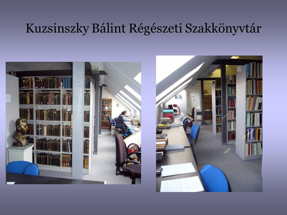 Kuzsinszky Bálint Régészeti Szakkönyvtár