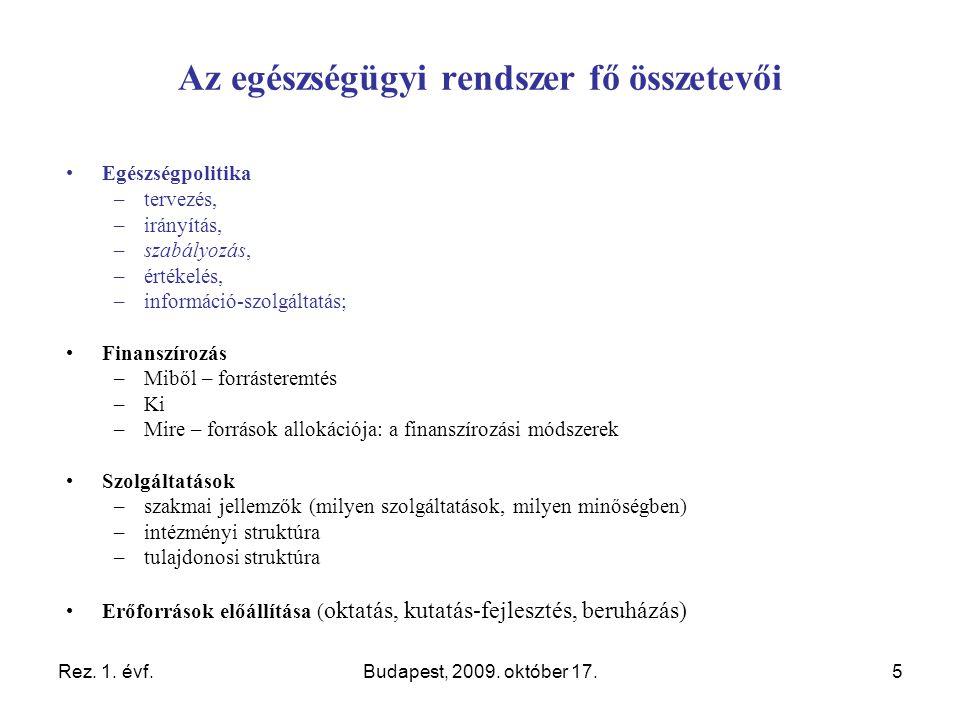 Rez. 1. évf.Budapest, 2009.