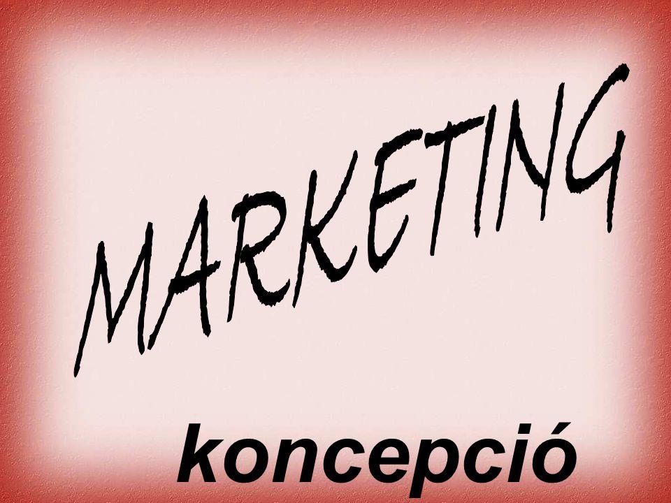 Cernat Kati • Marketing orientáció Napjainkban többféle szemléletű vállalat működik egyidejűleg a piacon.