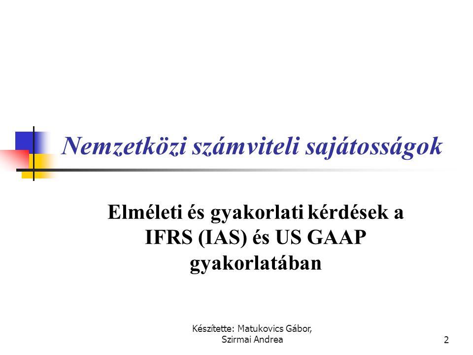 Készítette: Matukovics Gábor, Szirmai Andrea1 Honlap: www.msztarsasag.huwww.msztarsasag.hu