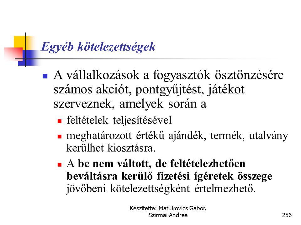 Készítette: Matukovics Gábor, Szirmai Andrea255 S zerkezetátalakítási költségekre  Átszervezésre vonatkozó vélelmezett kötelem csak akkor keletkezik,