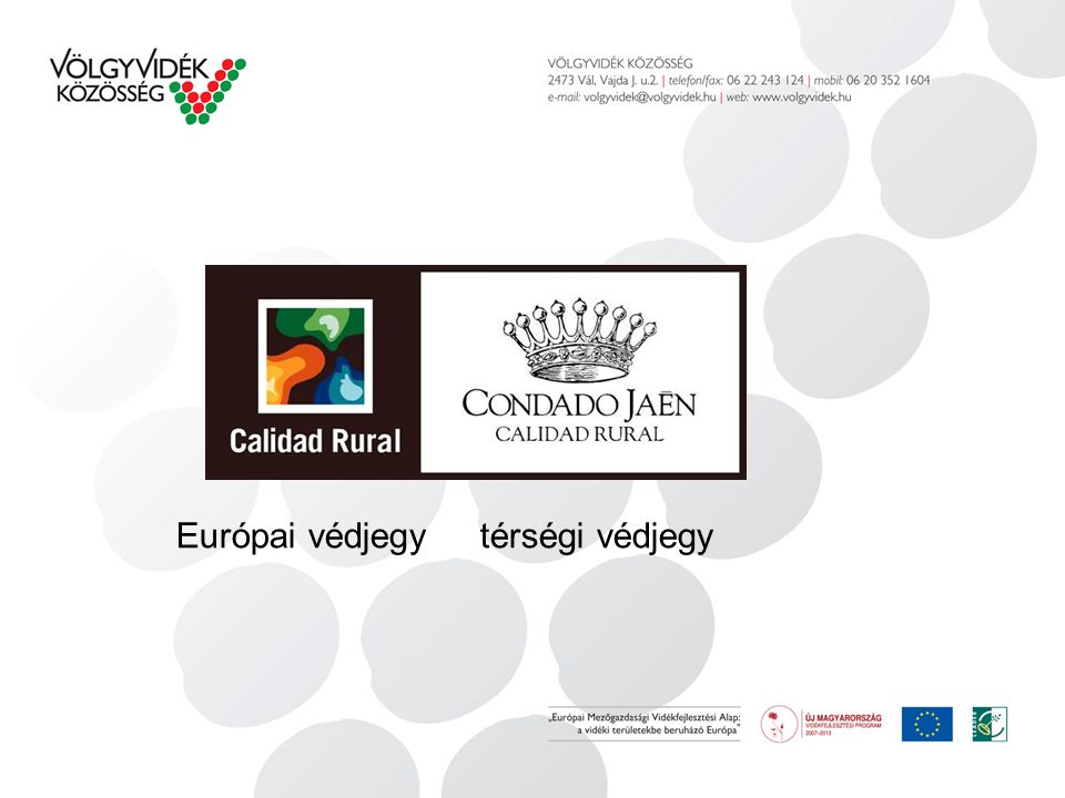 Európai védjegy térségi védjegy