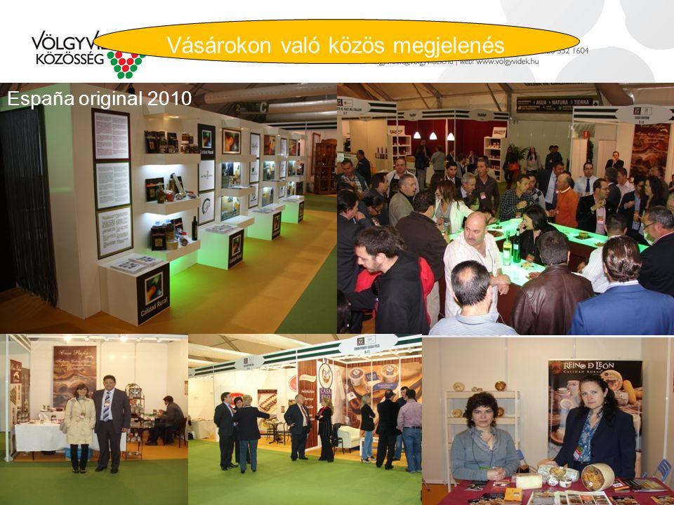 Vásárokon való közös megjelenés España original 2010