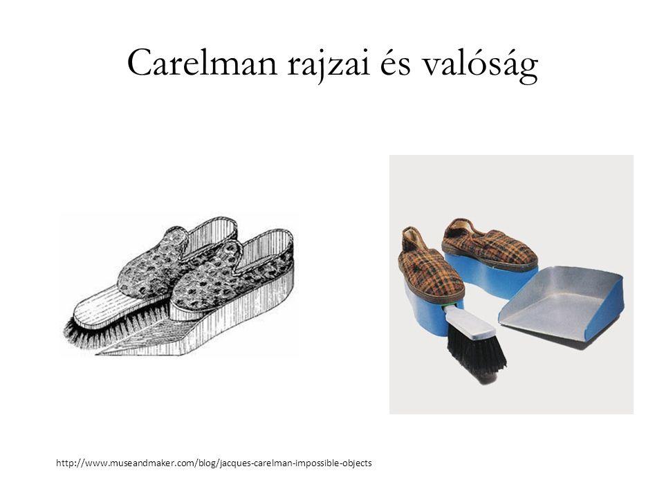 Carelman rajzai és valóság http://www.museandmaker.com/blog/jacques-carelman-impossible-objects