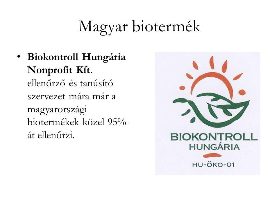 Magyar biotermék • Biokontroll Hungária Nonprofit Kft.