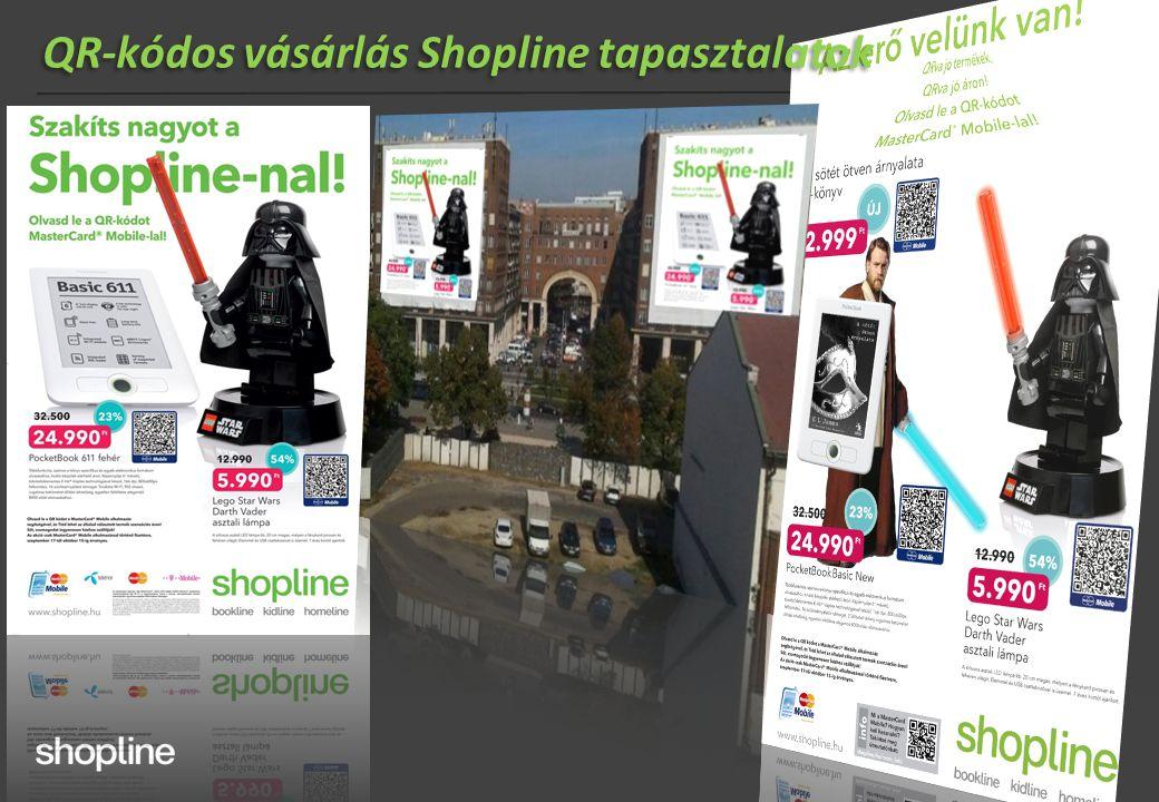QR-kódos vásárlás Shopline tapasztalatok