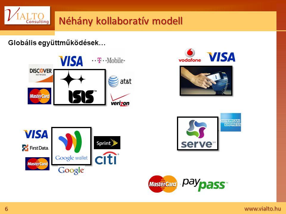 6 www.vialto.hu Néhány kollaboratív modell Globális együttműködések…