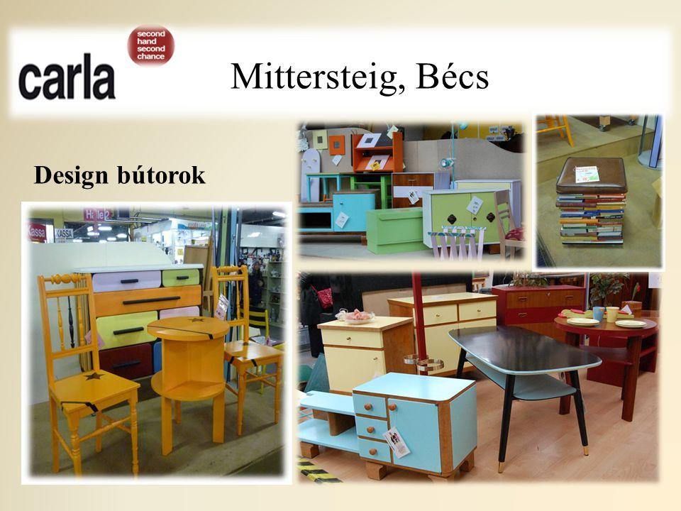 Mittersteig, Bécs Design bútorok