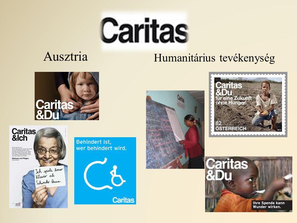 Ausztria Humanitárius tevékenység