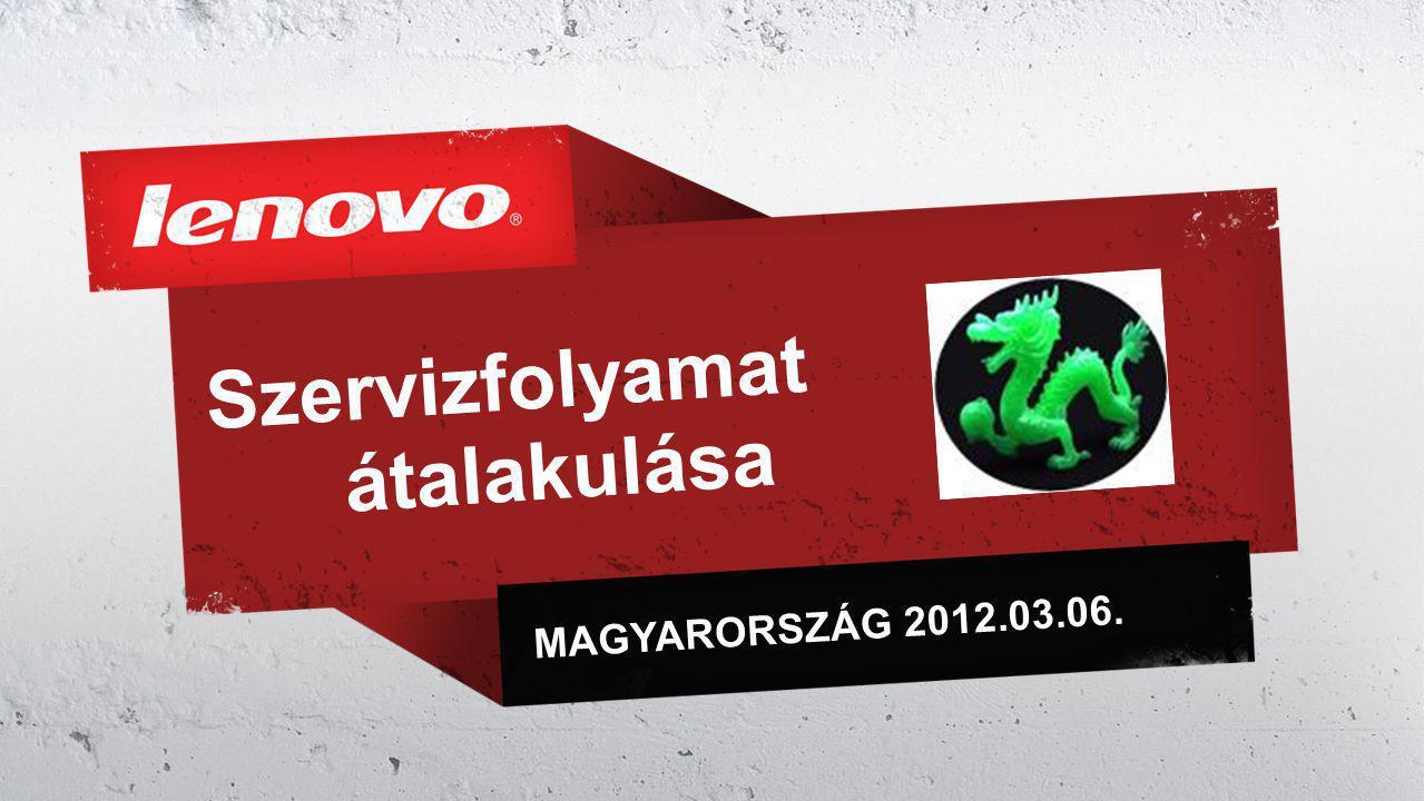 Szervizfolyamat átalakulása MAGYARORSZÁG 2012.03.06.