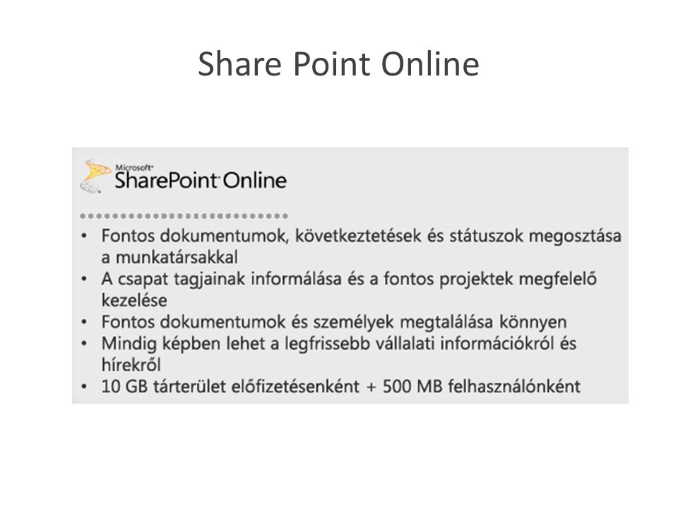 Share Point Online