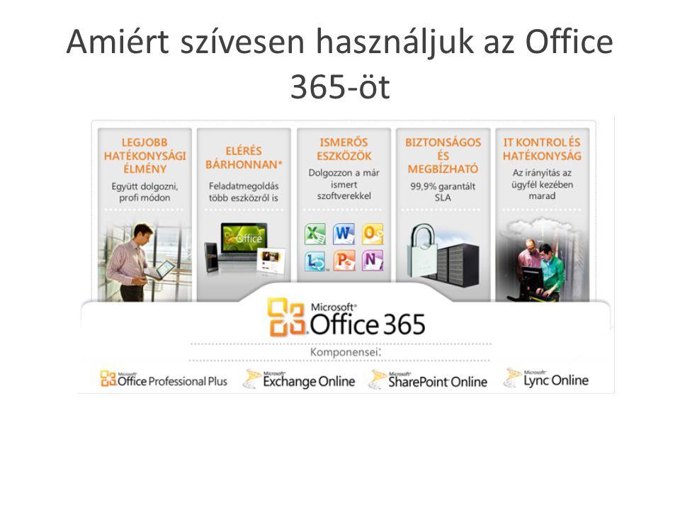 Amiért szívesen használjuk az Office 365-öt