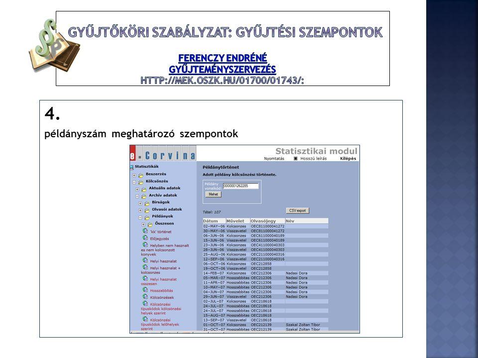  Országos jogszabályok:1997.évi CXL. tv.