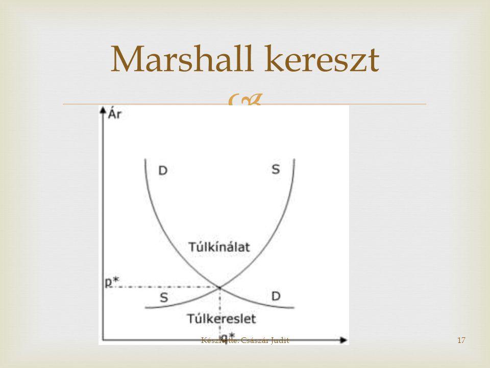  Marshall kereszt Készítette: Császár Judit17