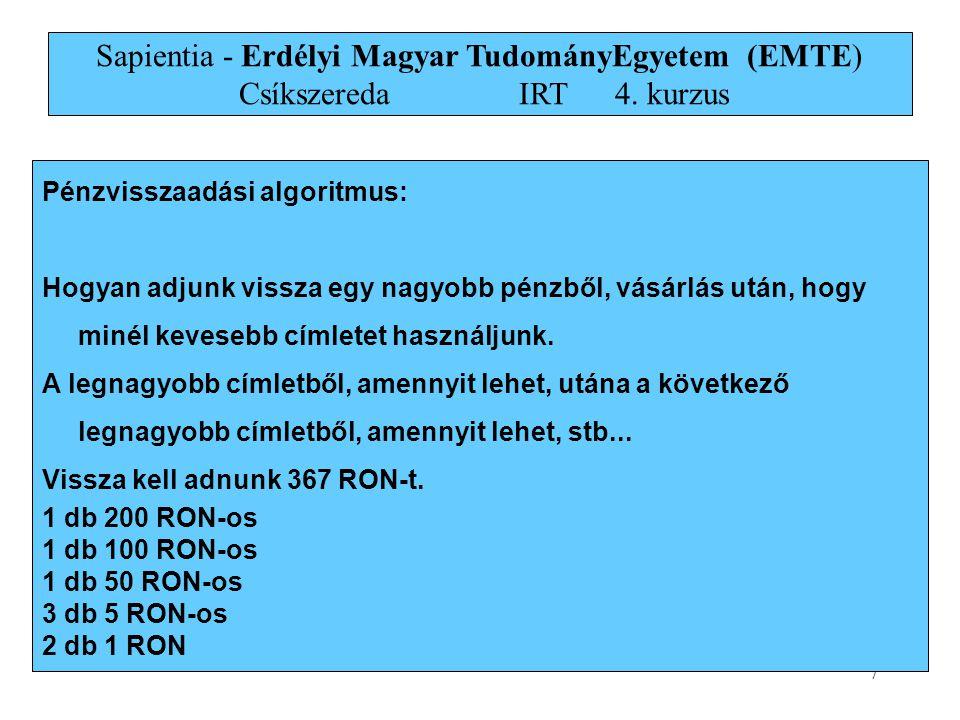 18 Kruskal algoritmusa a b i hg c f e d 1 7 4 8 9 8 11 7 6 2 2 4 14 10 a b i hg c f e d 1 7 4 8 9 8 11 7 6 2 2 4 14 10 a b i hg c f e d 1 7 4 8 9 8 11 7 6 2 2 4 14 10 a b i hg c f e d 1 7 4 8 9 8 11 7 6 2 2 4 14 10