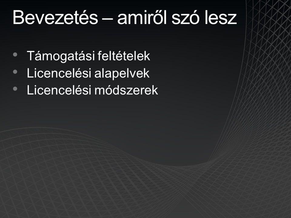 Desktop alkalmazások VM-ben • Desktop alkalmazások = Office, Visio, Project stb.