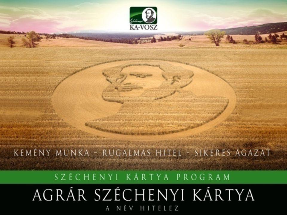 10 Agrár Széchenyi Kártya Folyószámlahitel • A hitel célja: a mezőgazdasági vállalkozások napi likviditási problémáinak áthidalása • A kedvezményezett