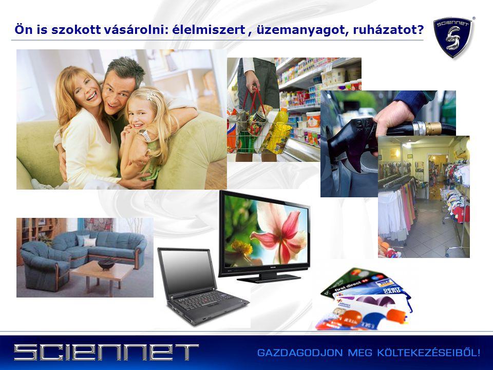Ön is szokott vásárolni: élelmiszert, üzemanyagot, ruházatot?