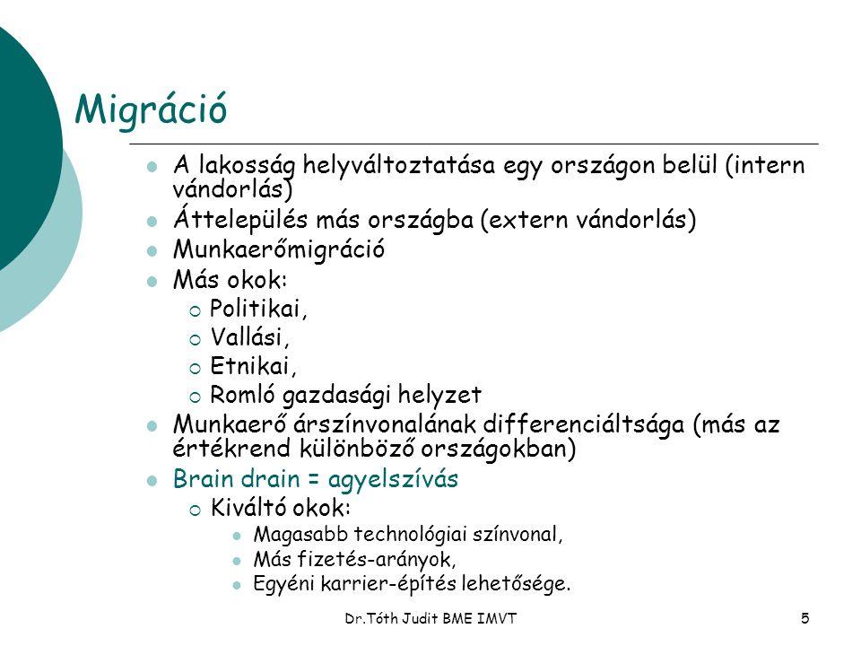Dr.Tóth Judit BME IMVT6 Az állam szerepe a munkaerő újratermelésében.