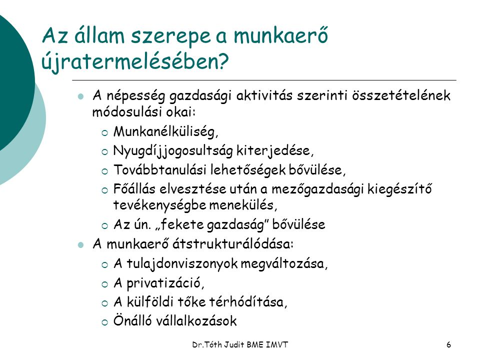 Dr.Tóth Judit BME IMVT27 A szervezet eredményessége – a 7S modell Kemény tényezők: 1.