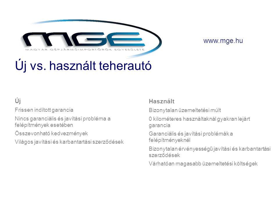 www.mge.hu Új vs.